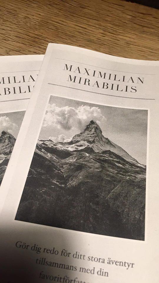 Mirabilis publikation